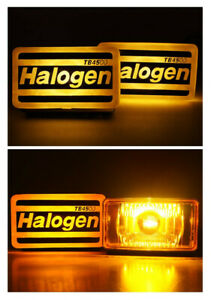 Universal Fog Light Spot Lamp H3 12v 55w Yellow Adjustable Fit All Car Ae86 Aw11