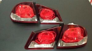 Honda Civic Fd1 Fd2 Tail Lamps Lights Late Model 4 Piece Reflector 1 Pair 06 11