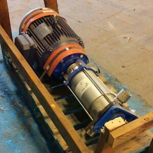 Myers 6 stage Pump Mv16 60s W Leeson 15hp Motor G150062 00 pzb