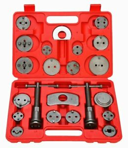 23 Pcs Universal Auto Disc Brake Caliper Brake Piston Wind Back Rewind Tool Set