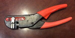 Thomas Betts Wt440 Compression Tool Crimper With 02 Die