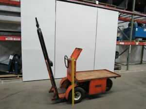 Nordco 323 Marketeer 24v Order Picker Chaser Burden Carrier Taylor Dunn Cart