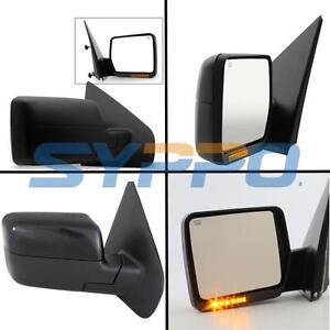 For 04 06 Ford F150 Pickup Power Heated Signal Side View Mirrors Lh Rh Pair