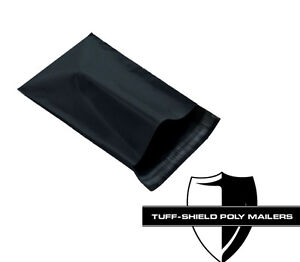 Size 2 7 5x10 5 Black Poly Mailer Bags 3 2 Mil Premium Quality