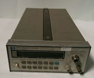 Hp Hewlett Packard Agilent 5386a Frequency Counter S n 2704a01571