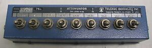 Telonic Toggle Switch Attenuator Tg 975b Nice