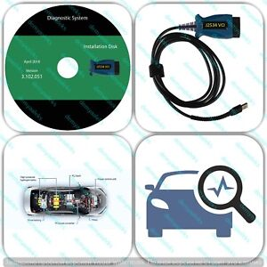 J2534 Diagnostic Adapter Tool Scanner For Honda Acura Hds