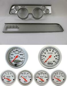 67 68 Cougar W ac Silver Dash Carrier W Auto Meter Ultra Lite Electric Gauges
