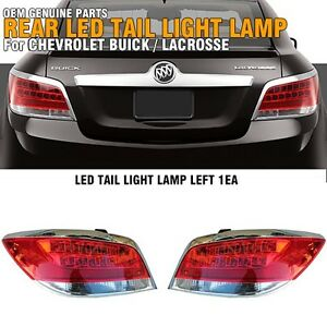 Oem Genuine Parts Rear Led Tail Light Lamp Lh Rh For Buick 2010 2013 Lacrosse