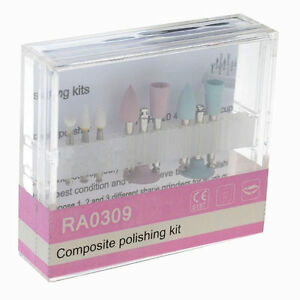 10set Dental Composite Polishing Kit Ra 0309 F Low speed Handpiece