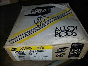 Esab Dual Shield 8000 b2 Mic Wire