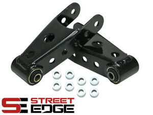 Street Edge 07 16 Silverado Sierra 2 3 Rear Lowering Drop Shackles Kit