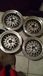 Mazda Rx7 Rx 7 Fc Oem Bbs Rz 15x6 5 Et40 Light Weight Factory Alloy Wheels 2