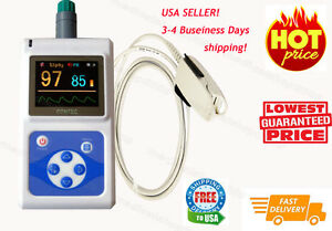Usa Sale Contec Fingertip Pulse Oximeter Spo2 Blood Oxygen Monitor Pc Software