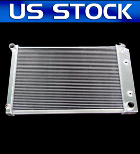 Cool 500hp 3 Rows Fit 73 85 Chevy C10 Gmc K3500 Truck Aluminum Radiator
