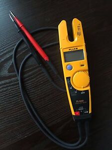 New Fluke T5 600 Clamp Continuity Current Electrical Tester