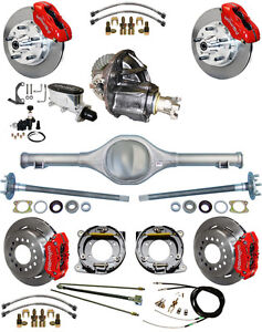 New Suspension Wilwood Brake Set currie Rear End posi trac Gear 82 97 S10 32
