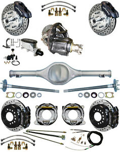 New Suspension Wilwood Brake Set currie Rear End posi trac Gear 82 97 S10 33