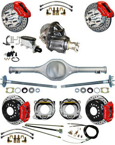 New Suspension Wilwood Brake Set currie Rear End posi trac Gear 82 97 S10 34