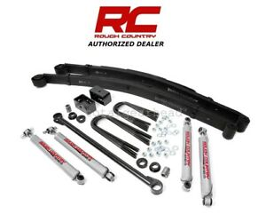 2000 2005 Ford Excursion 4wd 3 Rough Country Suspension Lift Kit 487 20