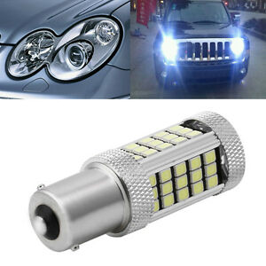 Dc 12v 1156 2835 63 Led 6000k Car Projector Fog Driving Light White Bulb New