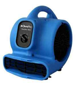 Omnidry Mini Air Mover And Carpet Dryer Powerful Energy Efficient 3 Speed 12lbs