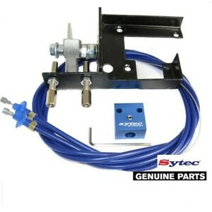 Sytec Tlk1 D Twin Dellorto Carbs Throttle Cable Linkage Kit 40 45 Dhla