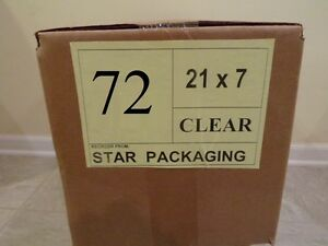 72 Clear Plastic Dry Cleaning Poly Bag Garment Bags 300 Bags Made In Usa