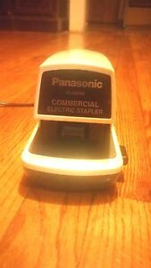 Panasonic Electric Stapler Model As 300nn Japan