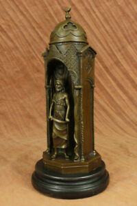 Art Deco Museum Quality By Bergman Bronze Sculpture Highly Detailed Statue Gift