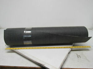 1 Ply Black Interwoven Smooth Top Conveyor Belt 18 X 30 1 2 X 0 130