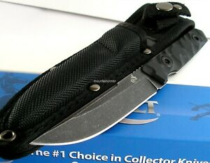 Colt Small Tactical Yoroidoshi Tanto Style Fixed Blade  Full Tang Knife CT673