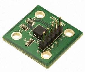 Adxl321 Accelerometer Evaluation Board Dual Axis 18 G Eval Qty 1