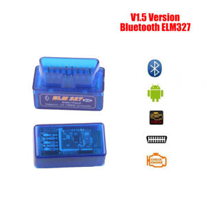 Bluetooth Elm327 V1 5 Obd2 Auto Car Diagnostic Interface Code Scanner Android