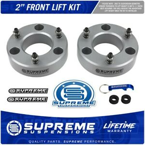 2007 2018 Chevy Tahoe Gmc Yukon Escalade 2 Front Leveling Kit Race Blue Lifts