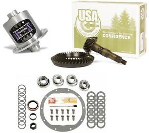 1965 1971 Chevy Gm 8 2 3 73 Usa Ring And Pinion Duragrip Posi Gear Pkg