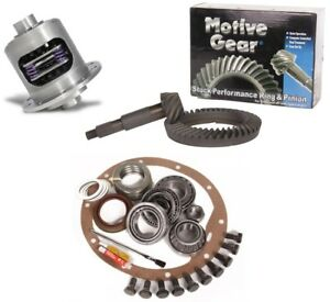 Chevy Gm 8 2 3 73 Motive Ring And Pinion Duragrip Posi Timken Gear Pkg