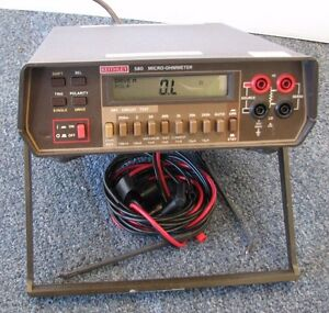 Keithley 580 Digital Micro Ohmmeter
