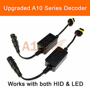 2x A10 Emc 9005 Headlight Canbus Led Decoder Drl Hid Anti flicker Load Resistor