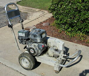 Used Hotsy Bxa 373539 100309 Gas Engine Cold Water Pressure Washer