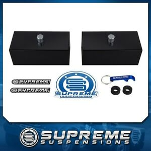 Fits 99 20 Chevy Gmc Silverado Sierra 1500 1 Rear Leveling Lift Blocks Kit Pro