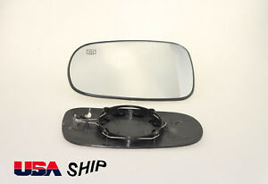 Driver Side Mirror Glass Heated W holder For Saab 9 3 93 9 5 95 2003 2008 New