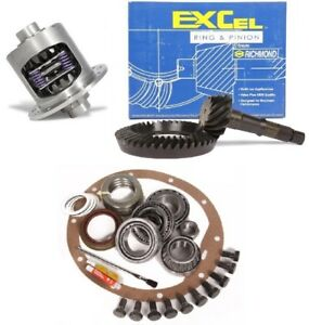 Gm Chevy 12 Bolt C10 Truck 4 56 Ring And Pinion Duragrip Posi Excel Gear Pkg