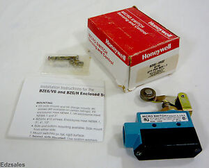 Honeywell Micro Switch Bze6 2rq2 Snap action Roller Arm Limit Switch