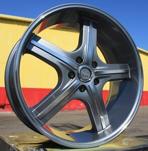 20 Inch U255 Gm Rims And Tires Mustang Acura Tl Awd Charger Awd 300c Mustang