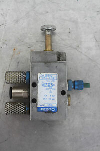 Festo Electric Mfh 5 1 8 Solenoid Valve W Manual Override
