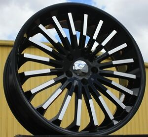 20 Inch V18 Bm Rims And Tires Mustang Acura Tl Awd Charger Awd 300c Mustang