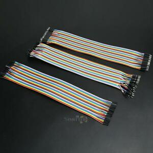 120pcs Good Male To Female Dupont Wire Jumper Cable For Arduino Breadboard 30cm