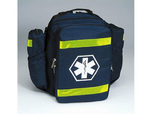 Ultimate O2 Oxygen First Responder Trauma Backpack Fits C Cylinder Blue