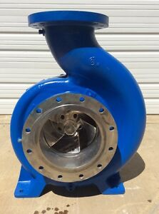 Goulds Pump Model 3180l 10x12 19 5 Vane Imp Size 17 750 316 Stainless Steel